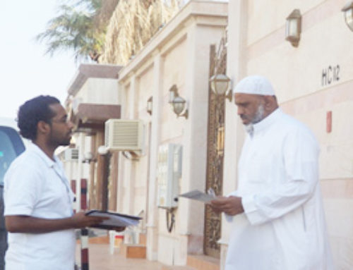Field teams begin the data collection phase for NWC customers in Jeddah